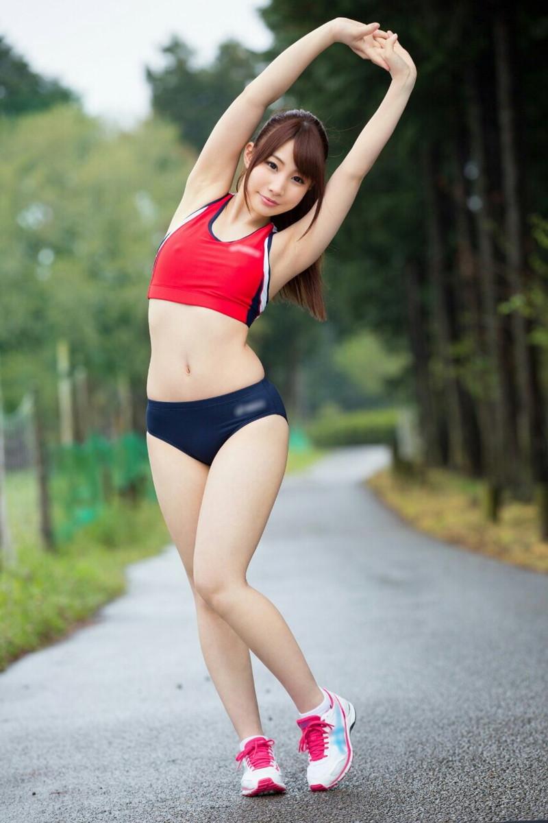 ジョギングするお姉さんってエロい!